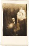 Clergyman with Two Spirits, William Hope, 5 April 1920 via National Media Museum