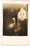 Clergyman with Two Spirits, William Hope, 5 April 1920 via National Media Museum
