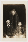 "Couple with Young Female Spirit."" From The Spirit Photographs of William Hope, (1863-1933)"