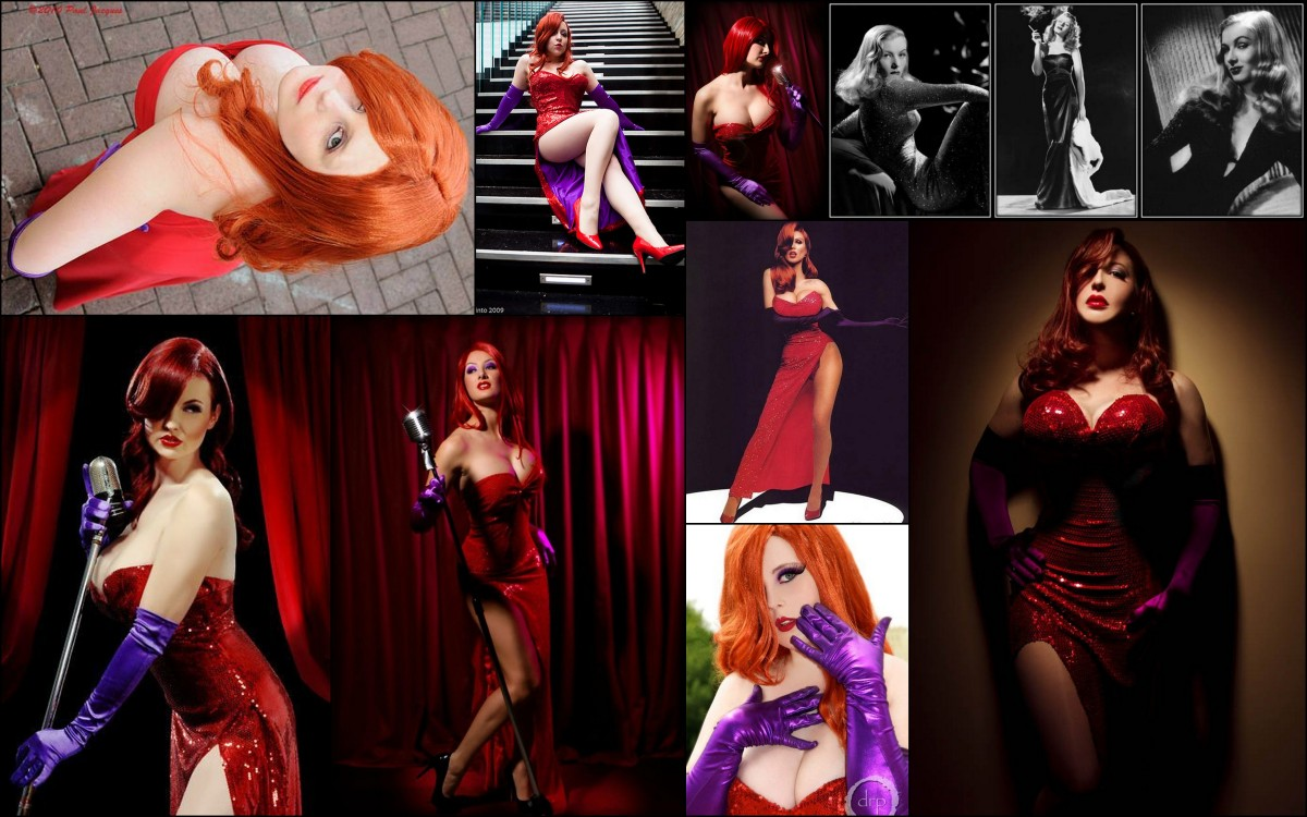 Thinking Costume: Jessica Rabbit, Original Ginger