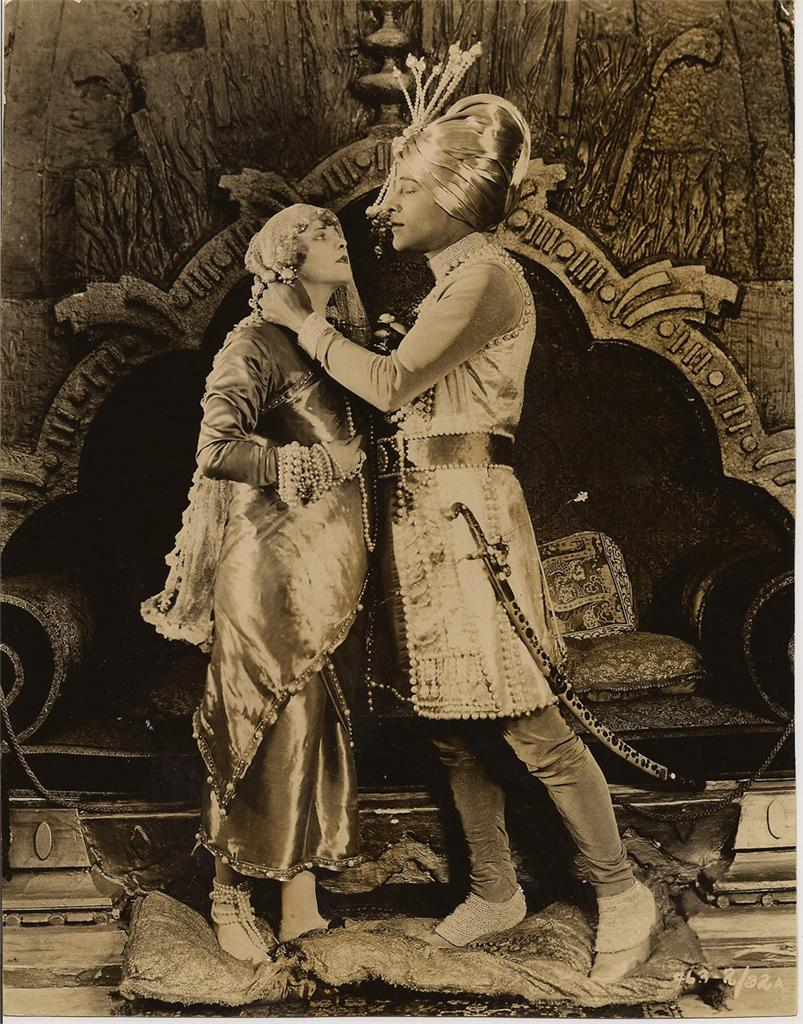 Rudolph Valentino in The Young Rajah 1922