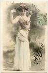 1901 Vintage Postcard Image Otero