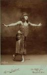 1909 Aimé Dupont, Thamara de Svirsky, carte de visite