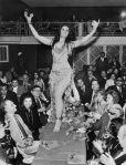 1974 Zizi Mostafa dancing for Jackie Kennedy and Aristotle Onasis