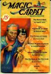 April 1933 -The Magic Carpet Magazine with cover by M Brundage, via Pulp Covers