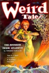 July 1935 Weird Tales Cover Paul Earnst art by M Brundage