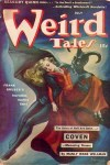 July 1942 Weird Tales Frank Gruber Seabury Quinn Art by Brundage