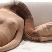 Li Hongbo Sculpture Art via Dominik Mersch Gallery
