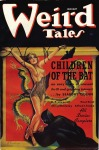 Margaret Brundage, cover of Weird Tales magazine