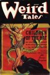Margaret Brundage, cover of Weird Tales magazine