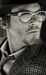 Hipster Norman Reedus in glasses and tie - Man Candy Monday 25