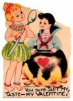 Tasty Lesbian Valentine
