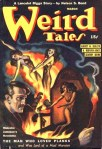 Weird Tales March 1941 Cover by Margaret Brundage