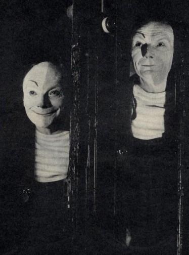 Creepy Vintage Photo Black and White