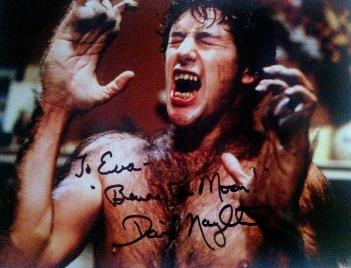 David Naughton in American Werewolf in London