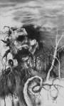 Stephen Gammell Art for Scary Stories to Tell in the Dark 3