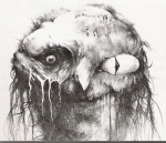 Stephen Gammell Art for Scary Stories to Tell in the Dark
