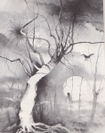 Stephen Gammell Illustration for Ghosts, J.B. Lippencott 1976 via Razorwire Pictures