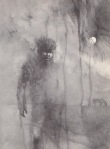 Stephen Gammell Illustration for Meet the Werewolf, J.B. Lippencott 1976 via Razorwire Pictures