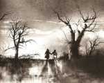 Stephen Gammell Illustration for Scary Stories to Tell in the Dark - New Mother