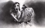 Stephen Gammell Illustrations - Scary Stories to Tell in the Dark Series