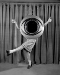 Vintage Costume Girl Dancing in Eye