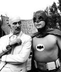 (1966) Egghead (Vincent Price) and Batman (Adam West)