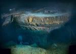 2010 composite photo Titanic's Mangled Stern
