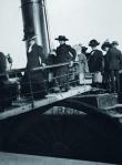 Edwardian Ladies boarding the Titanic