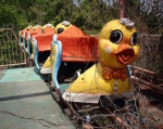 Okpo Land, South Korea's closed in 1999 after a number of fatal accidents.  via MySendOff