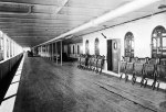 Promenade Deck of the Titanic 1912