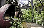 Ride at Kulturpark Planterwald Abandoned Amusment Park (SpreePark) (opened in 1969, closed 2001) via Abandoned Now