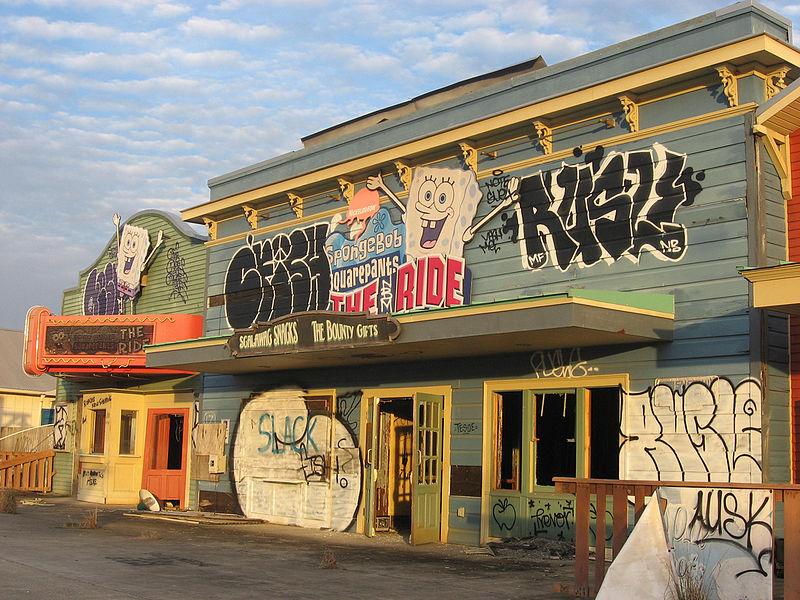 Six Flags New Orleans Amusement Park