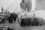 Top Deck of the Titanic 1912
