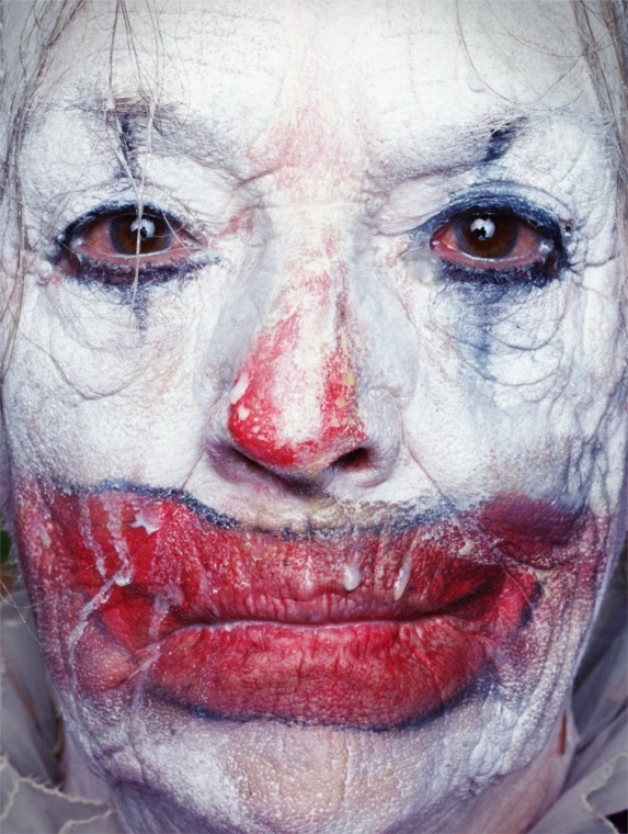 Erwin Olaf Paradise Portraits Old Scary Clown Joker Creepy