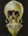 Salvadore Dali Ballerina in a Deaths Head (1939)