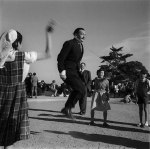 Spanish Surrealist Artist Salvador Dali Jumping Rope