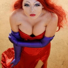 Tempest Paige Sexy Real Life Jessica Rabbit Cosplay