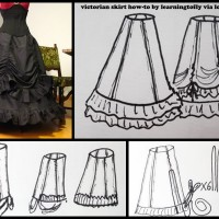 Grab Your Needle, Grab Your Thread: Victorian Skirt Tutorial