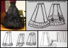 Victorian Skirt Tutorial by learningtofly via loli tutorials