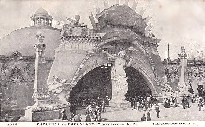 Entrance to Dreamland, Coney Island, 1905