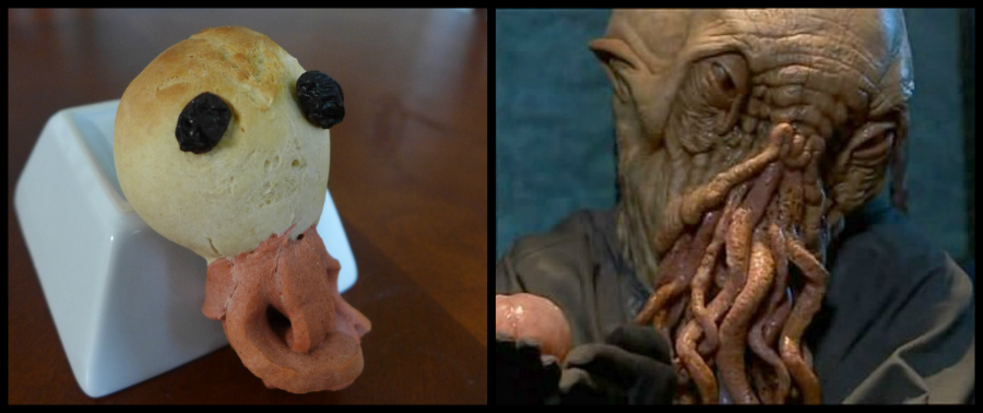 Ood Rolls by Kitchen Overlord Vs. Doctor Who Planet of the Ood