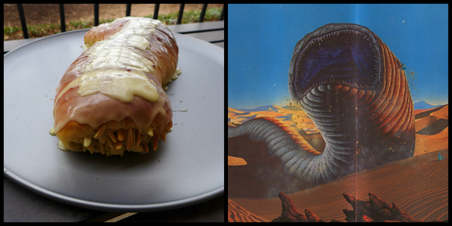 Sandworm Bread by Kitchen Overlord Vs. Frank Herbert's Sandworms from Dune