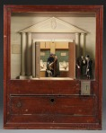 Vintage Coin Operated Mortuary Automiton by Skinner Auctions - Interior