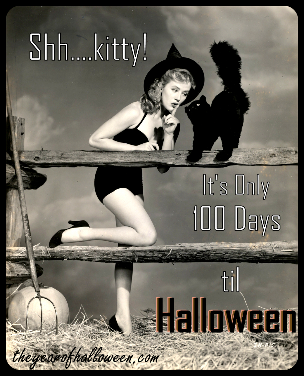 100 days and counting… – the year of halloween