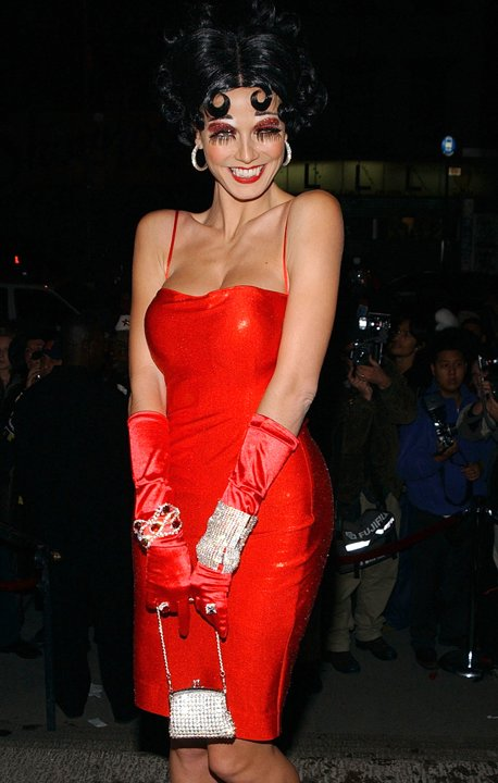 2002 Heidi Klum Halloween Betty Boop