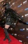 2009 Heidi Klum Halloween Raven