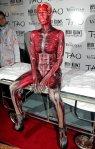 2011 Heidi Klum Halloween Cadaver (Hand-painted Bodysuit)