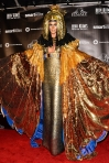 2012 Heidi Klum's Halloween Costume for Halloween in December Cleopatra