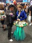 Dr Who Cosplay with Grant Imahara and Light Up Tardis at SDCC via Pajiba
